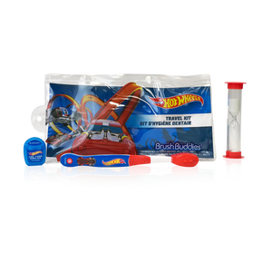 Brush Buddies Hot Wheels Travel Kit