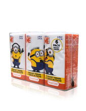Load image into Gallery viewer, Smart Care Minions Pocket Tissue (6 Pack)