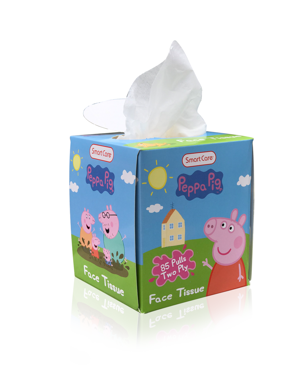Smart Care Peppa Pig Tissue Box (85 Count)