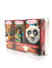Load image into Gallery viewer, Smart Care Kung Fu Panda Pocket Facial Tissues (6 Pack)