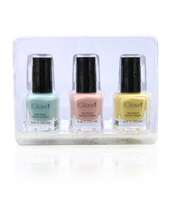 Load image into Gallery viewer, IGlow Nail Polish 3Pk (Shades - Sky Blue, Peach, Daffodil)