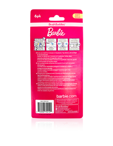 Brush Buddies Barbie Toothbrush (6 Pack)