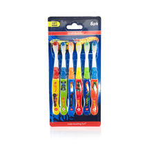 Load image into Gallery viewer, Brush Buddies Hot Wheels Toothbrush (6 Pack)