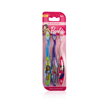 Load image into Gallery viewer, Brush Buddies Barbie Toothbrush 3 pack
