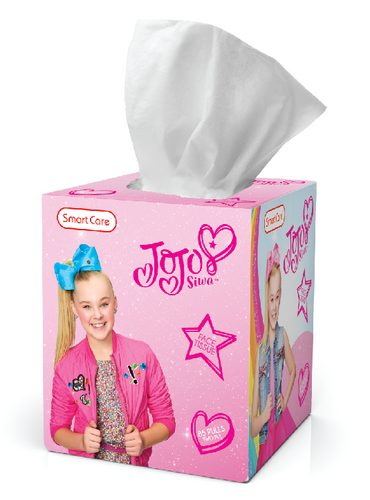 Smart Care JoJo Siwa Tissue Box (85 Count)
