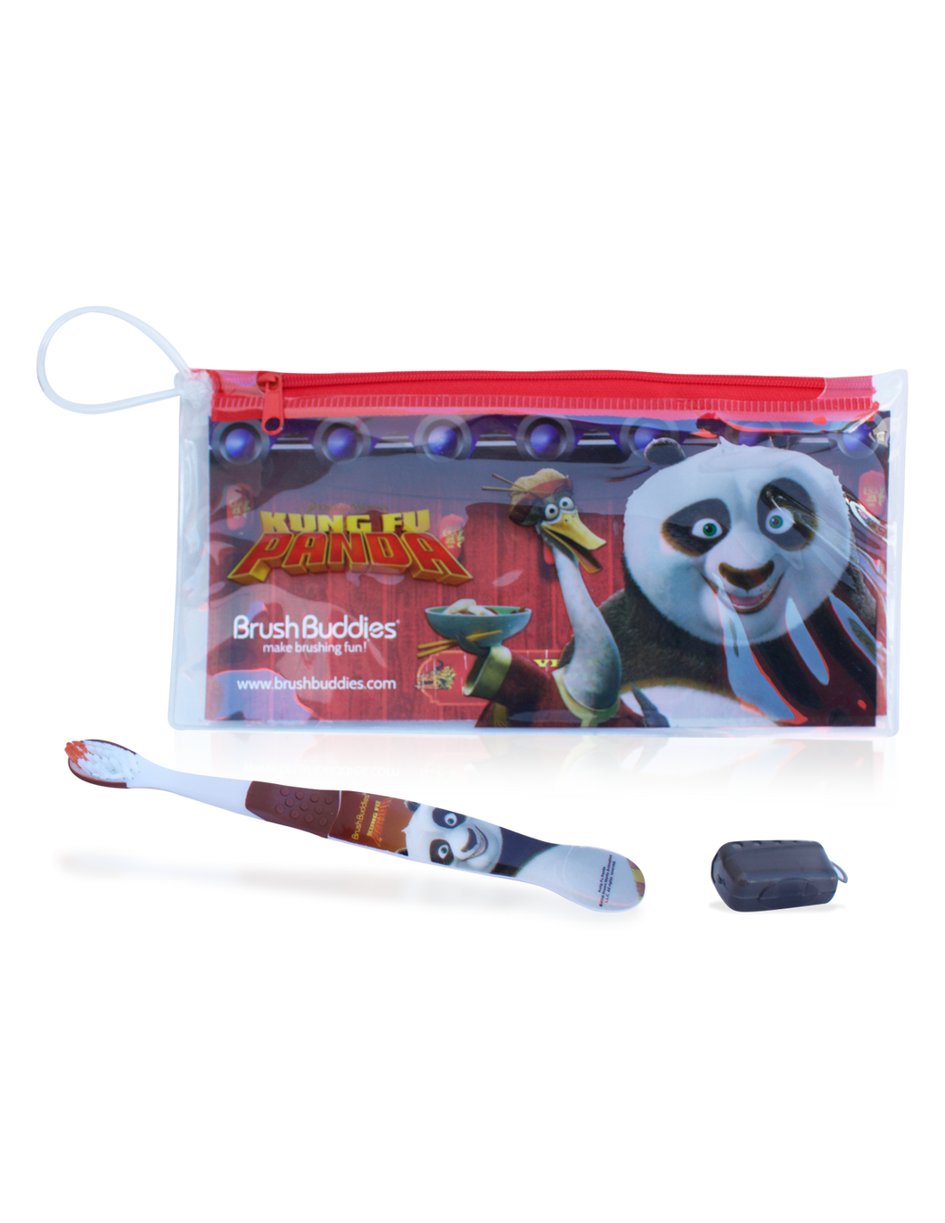 Brush Buddies Kung Fu Panda Eco Travel Kit