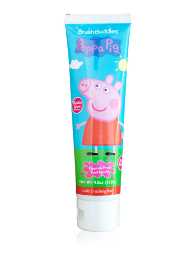 Brush Buddies Peppa Pig Bubble Gum Toothpaste (4.2 Oz)