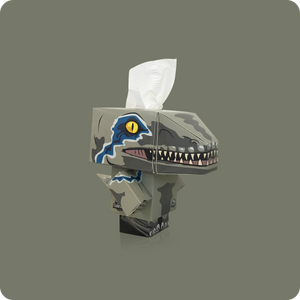 Jurassic World Mini Cube Tissue Box - Smart Care