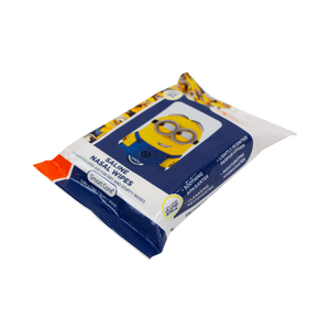 Smart Care Minions Saline Nasal Wipes (25 Count)