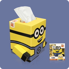 Load image into Gallery viewer, Cube Tissue Box Family - Case Pack 4 - Smart Care