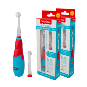Brush Buddies Fisher Price - My First Soniclean (2 Pack)