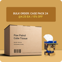Load image into Gallery viewer, Paw Patrol Cube Tissue Box - Case Pack 24