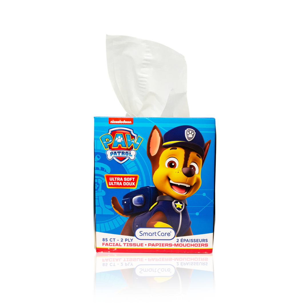 Smart Care Paw Patrol Tissue Box  (85 Count)