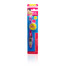 Load image into Gallery viewer, Brush Buddies Barbie Toothbrush 1 pack with Cap