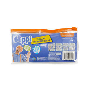 Brush Buddies Blippi Travel Kit