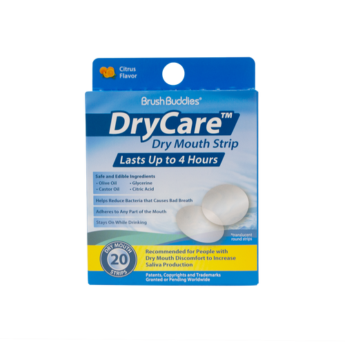 Brush Buddies Dry Care - Dry Mouth Strip  (20 Count)