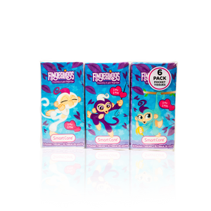 Smart Care Fingerlings Pocket Tissue 6 pack