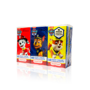 Smart Care Paw Patrol Pocket Tissue (6 Pack)