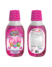 Load image into Gallery viewer, Brush Buddies Shopkins Bubble Gum Mouthwash (8 Oz)