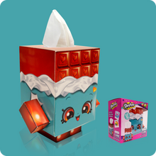 Load image into Gallery viewer, Shopkins Cube Tissue Box