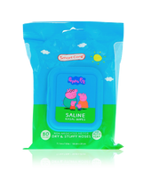 Load image into Gallery viewer, Smart Care Peppa Pig Saline Nasal Wipes (30 Count)