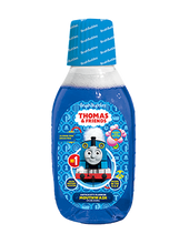 Load image into Gallery viewer, Brush Buddies Thomas & Friends Bubble Gum Mouthwash (8 Oz)