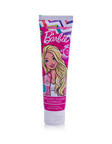 Brush Buddies Barbie Bubble Gum Toothpaste 4.2 oz.