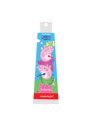 Brush Buddies Peppa Pig Travel Bubble Gum Toothpaste 0.85oz
