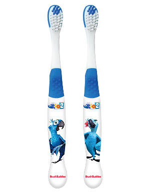 Brush Buddies Rio Toothbrush 2 Pack