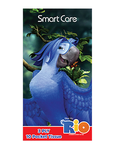 Smart Care Rio Pocket Facial Tissues 6 Pack