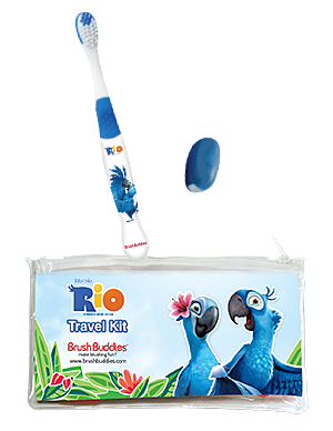 Brush Buddies Rio Eco Travel Kit