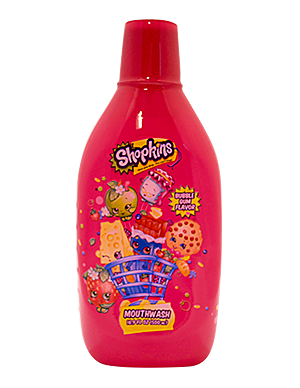 Brush Buddies Shopkins Bubble Gum Mouthwash 16.9 fl oz (500 mL)
