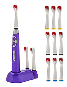 Soniclean Pro 3000 (Purple) With 12 Brush Heads