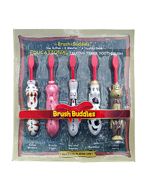Brush Buddies Talkin' All Characters 5 Pack