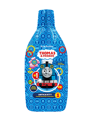 Brush Buddies Thomas & Friends Bubble Gum Mouthwash 16.9 fl oz (500 mL)