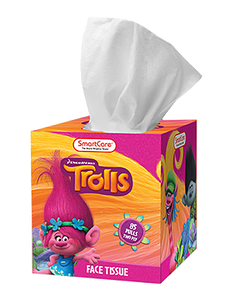 Smart Care Trolls Tissue Box (85 Count)