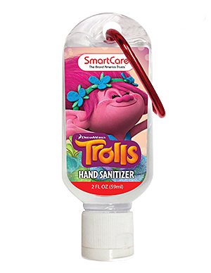 Smart Care Trolls Panda Hand Sanitizer 2 fl oz
