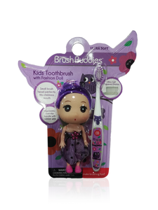 Brush Buddies Kids Toothbrush with Fashion Doll