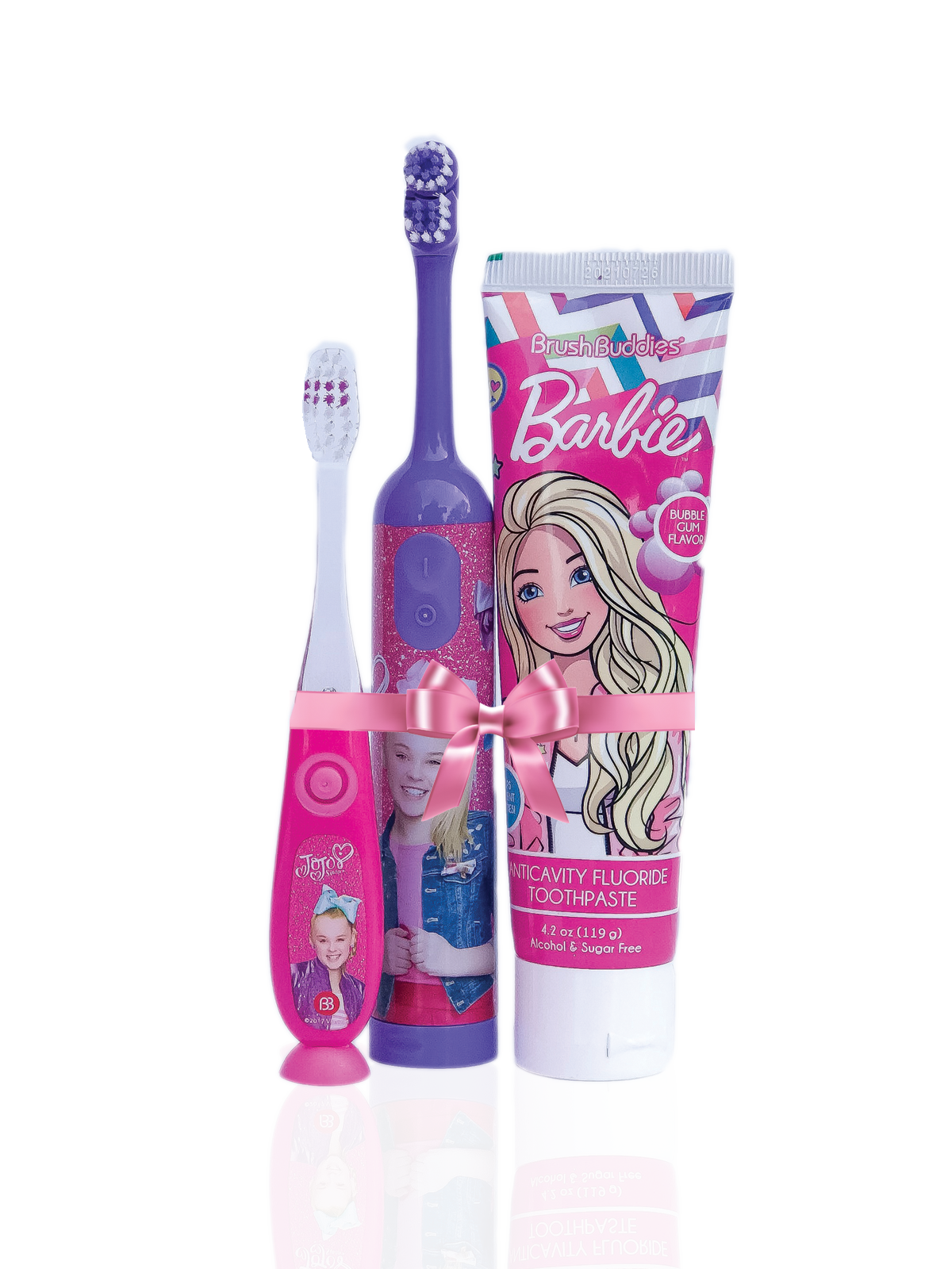 JoJo Siwa Flash + JoJo Siwa Electric toothbrush + Barbie