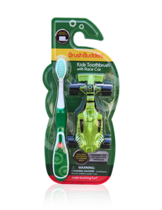 Brush Buddies Kids Toothbrush with Race Car