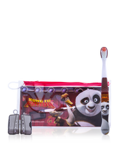 Load image into Gallery viewer, Brush Buddies Kung Fu Panda Eco Travel Kit