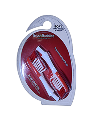 Brush Buddies Universal Singing Toothbrush Replacement Brush Heads