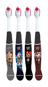 Brush Budidies WWE Toothbrush (4 Pack)
