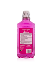Load image into Gallery viewer, Brush Buddies Barbie Bubble Gum Mouthwash 16.9 oz