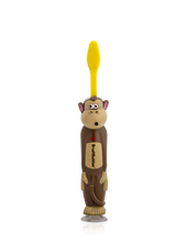 Load image into Gallery viewer, Brush Buddies Talkin' Swingin Sammy (Monkey) Toothbrush