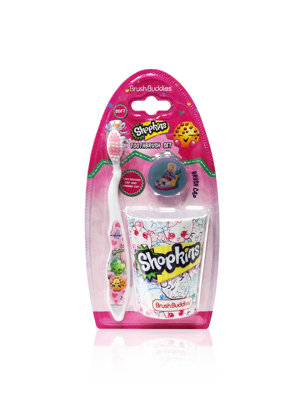 Brush Buddies Shopkins Toothbrush Gift Set