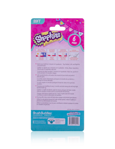 Brush Buddies Shopkins Toothbrush (6 Pack)
