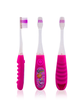 Load image into Gallery viewer, Brush Buddies Shopkins Flash Toothbrush Gift Set