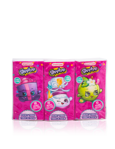 Smart Care Shopkins Pocket Facial Tissues 6 Pack
