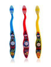 Load image into Gallery viewer, Brush Buddies Thomas & Friends Toothbrush 3 Pack